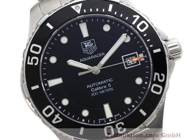 Used luxury watch Tag Heuer Aquaracer steel automatic Ref. WAN2110  | 140585 02