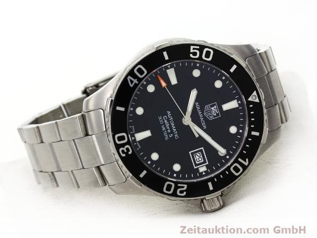 Used luxury watch Tag Heuer Aquaracer steel automatic Ref. WAN2110  | 140585 03