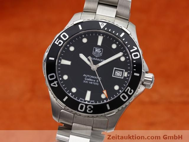 Used luxury watch Tag Heuer Aquaracer steel automatic Ref. WAN2110  | 140585 04