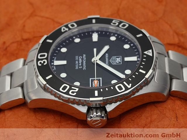 Used luxury watch Tag Heuer Aquaracer steel automatic Ref. WAN2110  | 140585 05