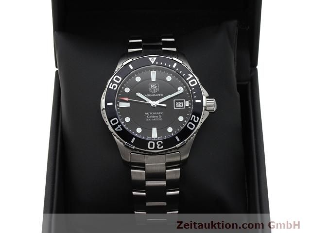 Used luxury watch Tag Heuer Aquaracer steel automatic Ref. WAN2110  | 140585 07