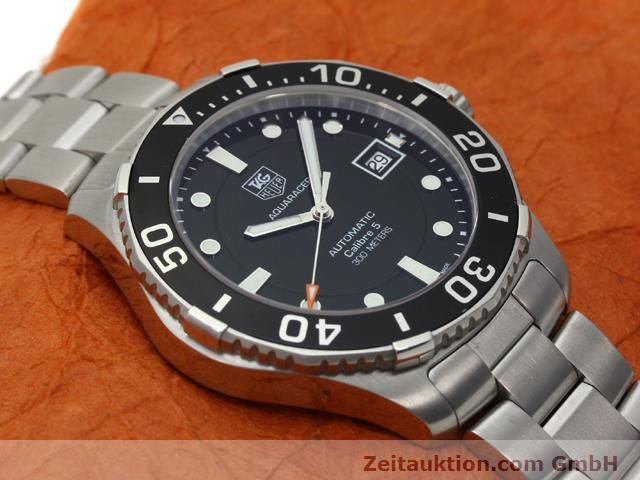 Used luxury watch Tag Heuer Aquaracer steel automatic Ref. WAN2110  | 140585 13