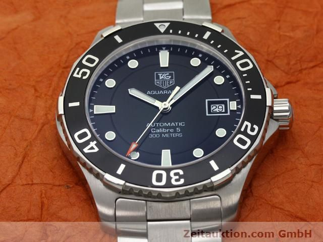 Used luxury watch Tag Heuer Aquaracer steel automatic Ref. WAN2110  | 140585 14