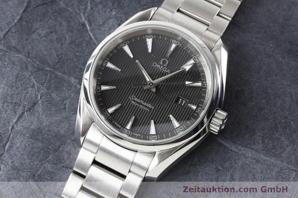 Used luxury watch Omega Seamaster steel quartz  | 140592 01