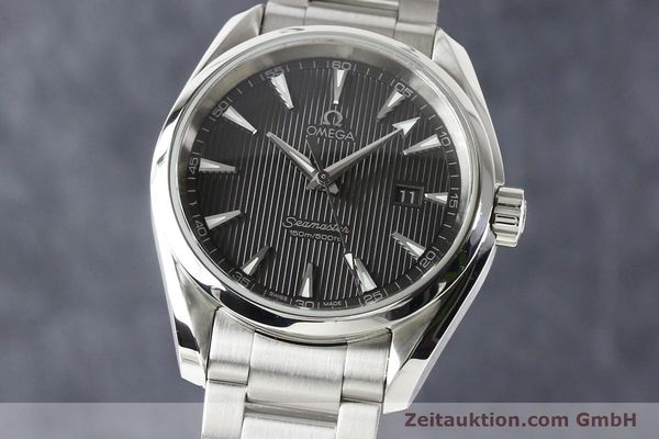Used luxury watch Omega Seamaster steel quartz  | 140592 04