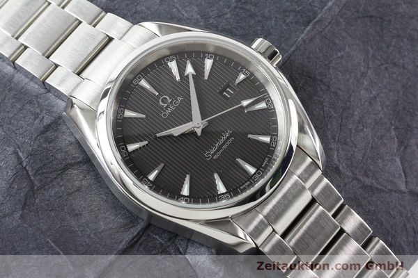 Used luxury watch Omega Seamaster steel quartz  | 140592 15
