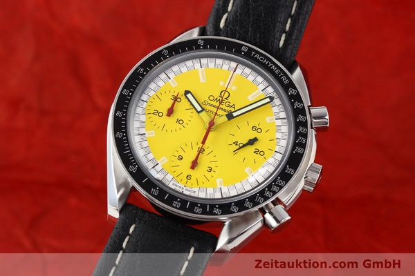 Used luxury watch Omega Speedmaster steel automatic Kal. 1141 ETA 2890A2  | 140593 04