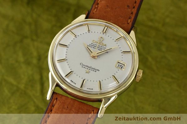 Used luxury watch Omega Constellation gold-plated automatic Kal. 561 Ref. 168.005  | 140594 04