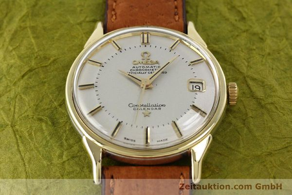 Used luxury watch Omega Constellation gold-plated automatic Kal. 561 Ref. 168.005  | 140594 14