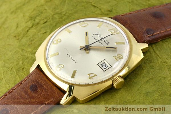 Used luxury watch Glashütte Spezimatic gold-plated automatic Kal. 75  | 140599 01
