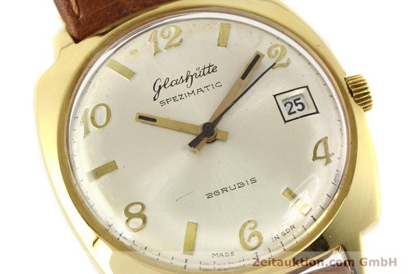 Used luxury watch Glashütte Spezimatic gold-plated automatic Kal. 75  | 140599 02