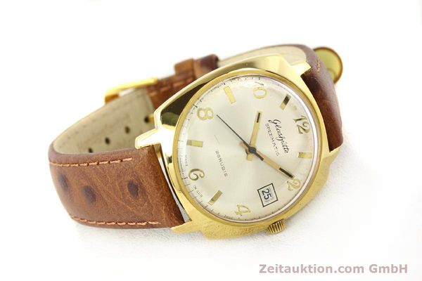 Used luxury watch Glashütte Spezimatic gold-plated automatic Kal. 75  | 140599 03