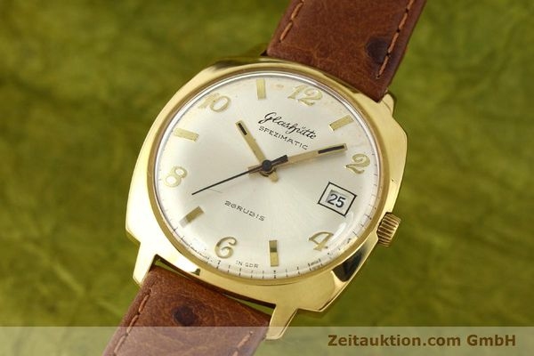 Used luxury watch Glashütte Spezimatic gold-plated automatic Kal. 75  | 140599 04