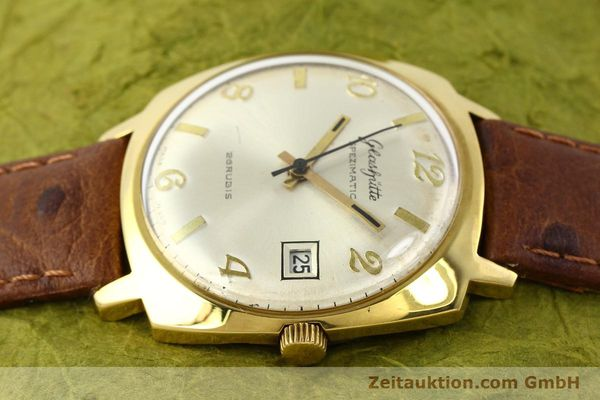 Used luxury watch Glashütte Spezimatic gold-plated automatic Kal. 75  | 140599 05