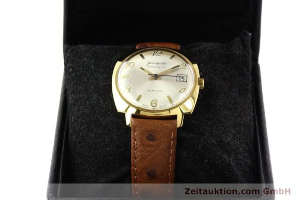 Used luxury watch Glashütte Spezimatic gold-plated automatic Kal. 75  | 140599 07