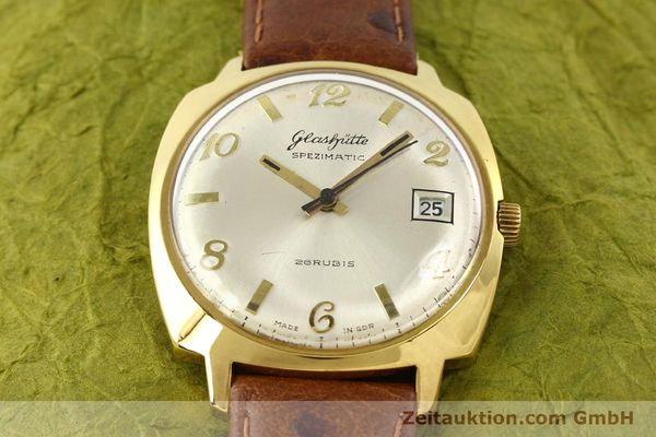 Used luxury watch Glashütte Spezimatic gold-plated automatic Kal. 75  | 140599 12