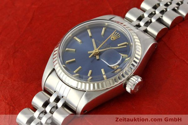 Used luxury watch Rolex Lady Date steel / gold automatic Kal. 2030 Ref. 6917  | 140601 01