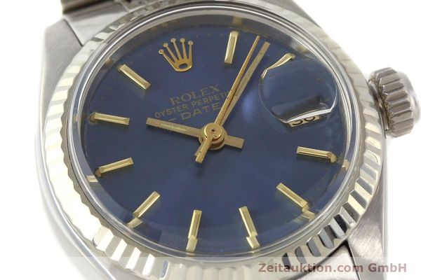 Used luxury watch Rolex Lady Date steel / gold automatic Kal. 2030 Ref. 6917  | 140601 02