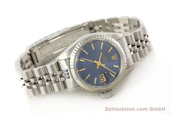 Used luxury watch Rolex Lady Date steel / gold automatic Kal. 2030 Ref. 6917  | 140601 03