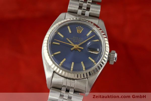 Used luxury watch Rolex Lady Date steel / gold automatic Kal. 2030 Ref. 6917  | 140601 04
