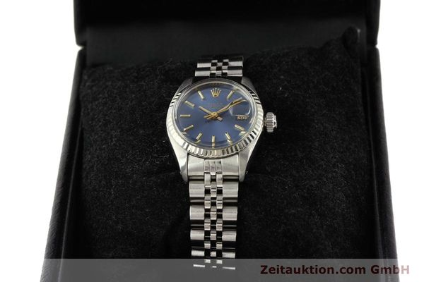 Used luxury watch Rolex Lady Date steel / gold automatic Kal. 2030 Ref. 6917  | 140601 07