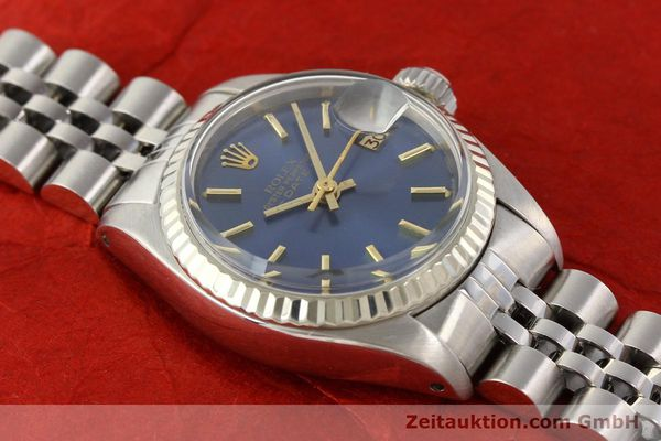 Used luxury watch Rolex Lady Date steel / gold automatic Kal. 2030 Ref. 6917  | 140601 15