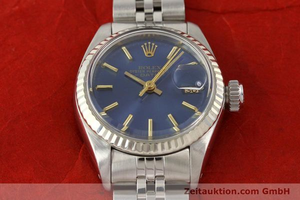 Used luxury watch Rolex Lady Date steel / gold automatic Kal. 2030 Ref. 6917  | 140601 16