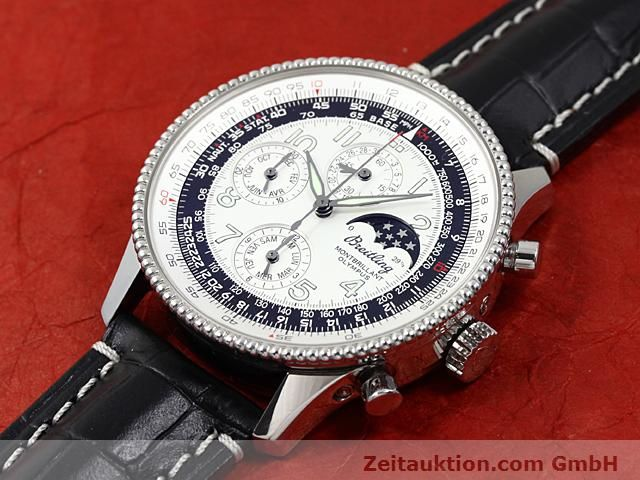 Used luxury watch Breitling Navitimer steel automatic Kal. ETA 2892A2 Ref. A19350  | 140603 01