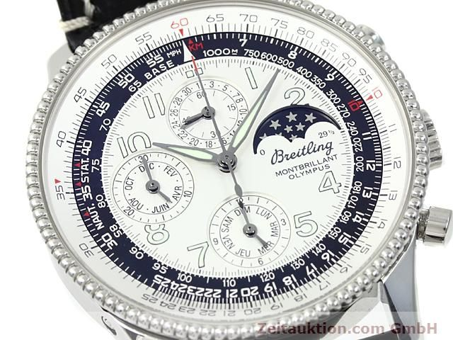 Used luxury watch Breitling Navitimer steel automatic Kal. ETA 2892A2 Ref. A19350  | 140603 02