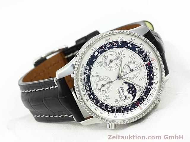 Used luxury watch Breitling Navitimer steel automatic Kal. ETA 2892A2 Ref. A19350  | 140603 03