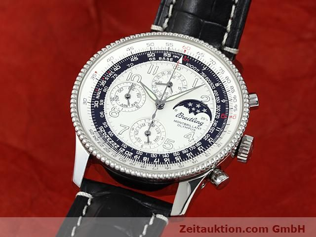 Used luxury watch Breitling Navitimer steel automatic Kal. ETA 2892A2 Ref. A19350  | 140603 04