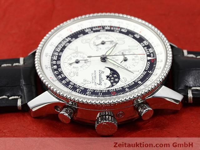 Used luxury watch Breitling Navitimer steel automatic Kal. ETA 2892A2 Ref. A19350  | 140603 05