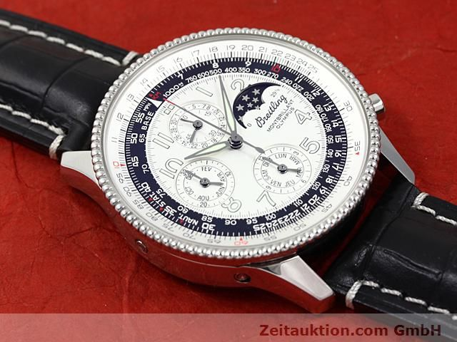 Used luxury watch Breitling Navitimer steel automatic Kal. ETA 2892A2 Ref. A19350  | 140603 15