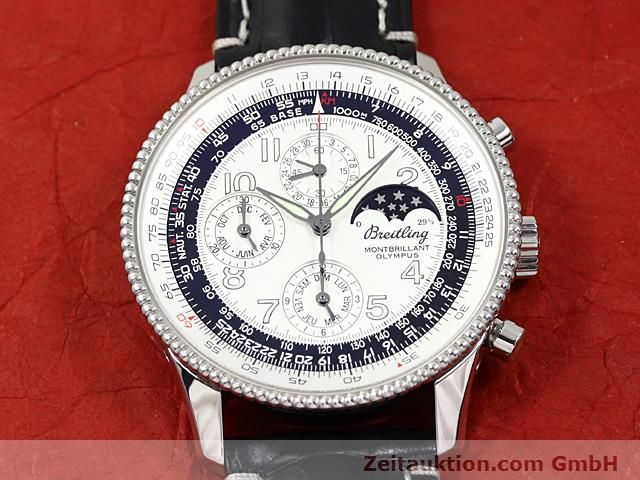 Used luxury watch Breitling Navitimer steel automatic Kal. ETA 2892A2 Ref. A19350  | 140603 16