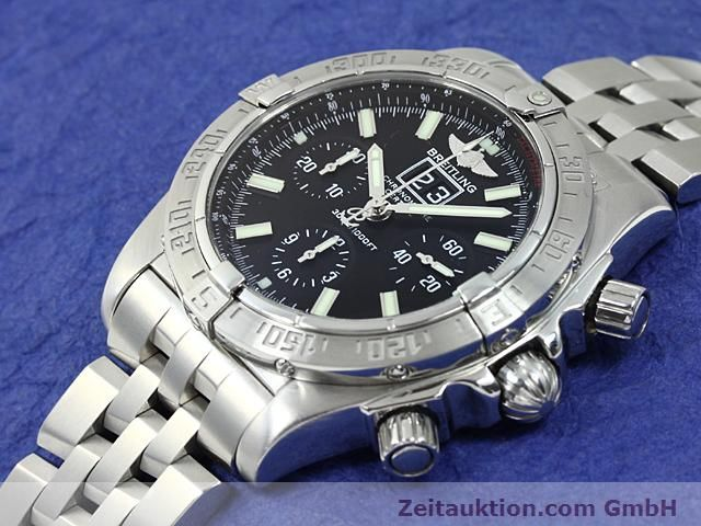 Used luxury watch Breitling Blackbird steel automatic Kal. ETA 2892A2 Ref. A44359  | 140606 01