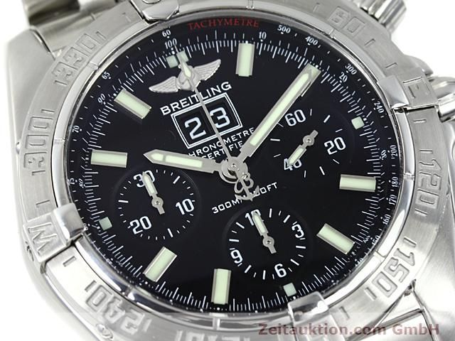 Used luxury watch Breitling Blackbird steel automatic Kal. ETA 2892A2 Ref. A44359  | 140606 02