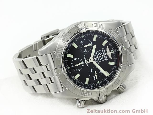 Used luxury watch Breitling Blackbird steel automatic Kal. ETA 2892A2 Ref. A44359  | 140606 03
