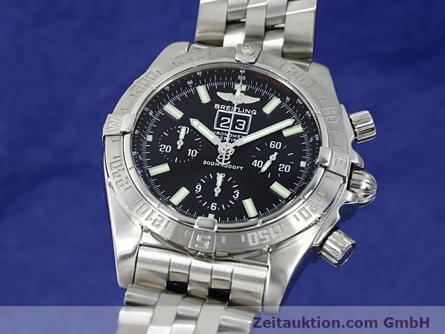 Used luxury watch Breitling Blackbird steel automatic Kal. ETA 2892A2 Ref. A44359  | 140606 04