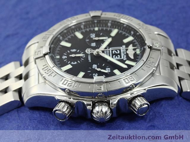 Used luxury watch Breitling Blackbird steel automatic Kal. ETA 2892A2 Ref. A44359  | 140606 05