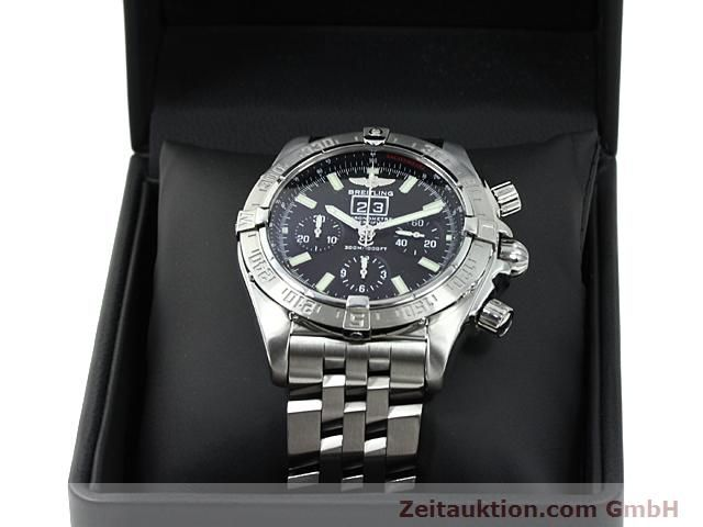 Used luxury watch Breitling Blackbird steel automatic Kal. ETA 2892A2 Ref. A44359  | 140606 07