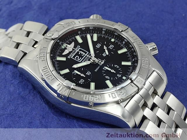 Used luxury watch Breitling Blackbird steel automatic Kal. ETA 2892A2 Ref. A44359  | 140606 12