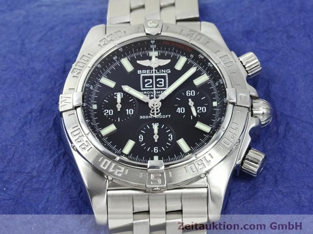 Used luxury watch Breitling Blackbird steel automatic Kal. ETA 2892A2 Ref. A44359  | 140606 13