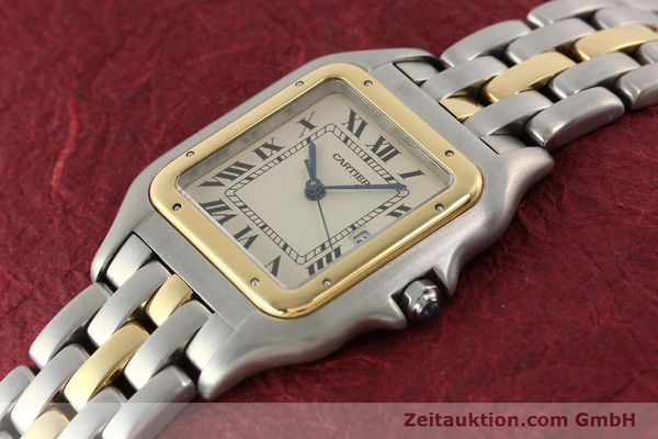 Used luxury watch Cartier Panthere steel / gold quartz  | 140609 01