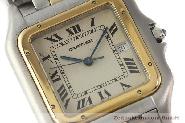 Used luxury watch Cartier Panthere steel / gold quartz  | 140609 02