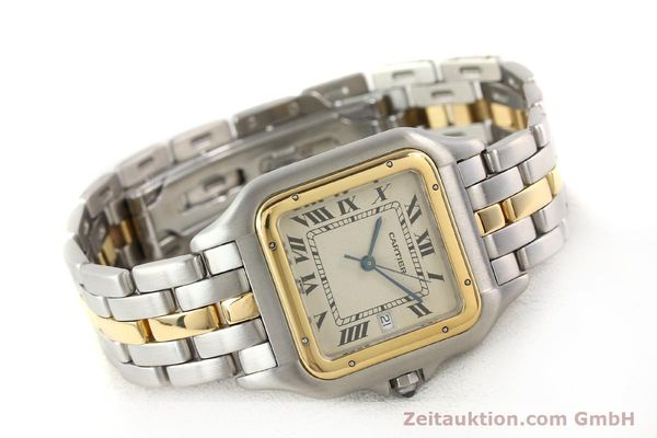 Used luxury watch Cartier Panthere steel / gold quartz  | 140609 03