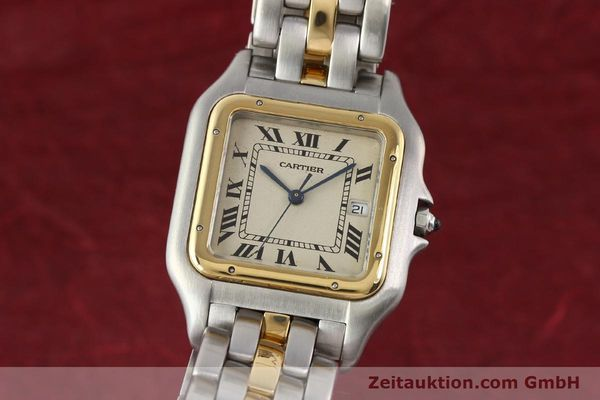 Used luxury watch Cartier Panthere steel / gold quartz  | 140609 04