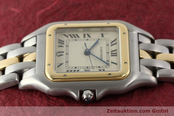 Used luxury watch Cartier Panthere steel / gold quartz  | 140609 05