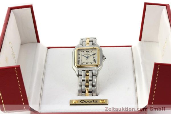 Used luxury watch Cartier Panthere steel / gold quartz  | 140609 07