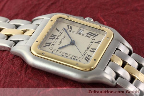 Used luxury watch Cartier Panthere steel / gold quartz  | 140609 14
