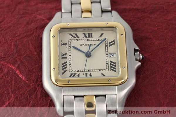 Used luxury watch Cartier Panthere steel / gold quartz  | 140609 15
